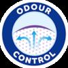 TENA Lady har Odour Control, så uønsket lugt reduceres