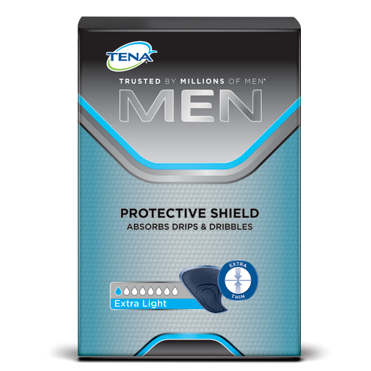 TENA Men Protective Shield Pack Shot