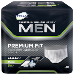 Photo du sachet TENA MEN Premium Fit Sous-vêtement Absorbant