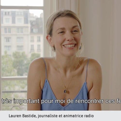 Lauren, Journaliste
