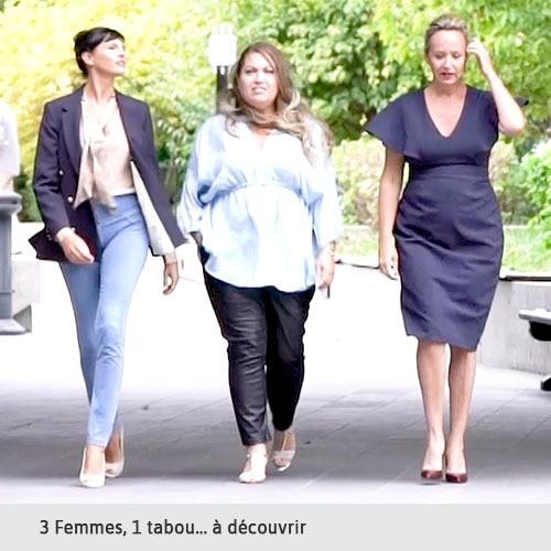 3 femmes, 1 tabou... À decouvrir
