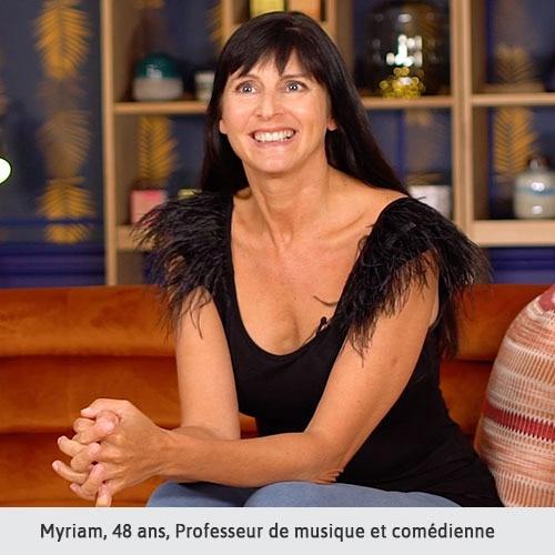 Myriam, 48 ans, Professeur de musique et comédienne