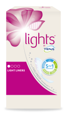 lights by TENA Light Liners for women with small urine leaks