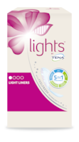 lights by TENA  Protège-slips Discret