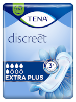 TENA Discreet Extra Plus | Womens incontinence pad with instant absorption