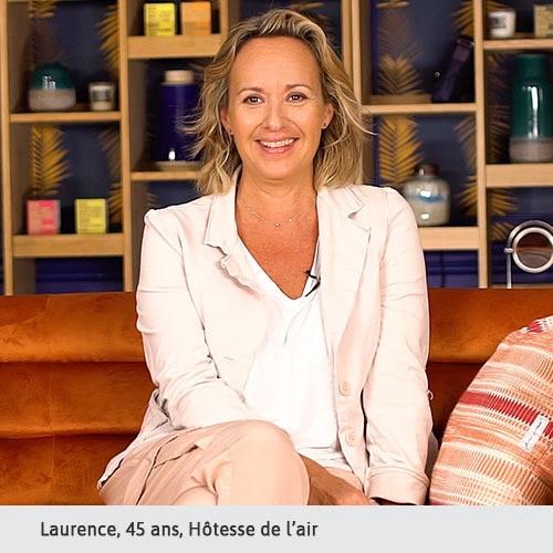 Laurence, 45 ans, Hôtesse de l'air