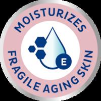 Izdelki za vlaženje kože TENA ProSkin Moisturizing za občutljivo zrelo kožo – vsakodnevna nega in nega pri inkontinenci