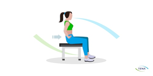 Beckenbodenübung 1 Die Muskeln bewusst spüren