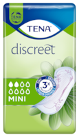 TENA Discreet Mini | Diskré og sikkert bind for urinlekkasje, for kvinner
