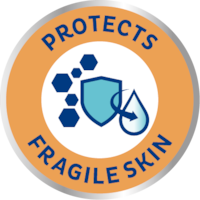Крем TENA защищает чувствительную кожу