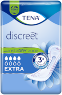 TENA Discreet Extra | Incontinence pad for incredible protection
