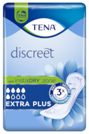 TENA Discreet Extra Plus | Incontinence pad for incredible protection