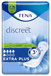 TENA Discreet Extra Plus | Protection absorbante pour une protection incroyable