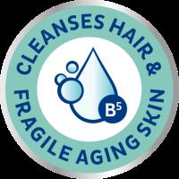 A TENA ProSkin sampon és tusfürdő megtisztítja az idősek törékeny, száraz haját és bőrét