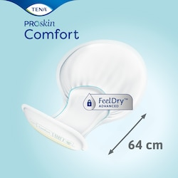 TENA ProSkin Comfort Super is 64 cm long