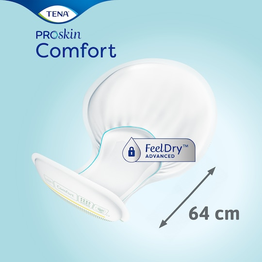 TENA Comfort Super | Protection absorbante de forme anatomique
