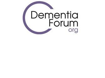 Logo del Dementia Forum