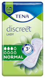 TENA Lady Discreet Normal | Diskrete und sichere Inkontinenzeinlagen für Frauen