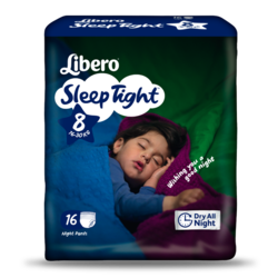 LIBERO Sleep Tight Size 8 packshot
