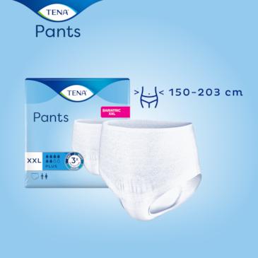 TENA Pants Bariatric Plus für adipöse Menschen mit einem Taillenumfang von 150 bis 200cm