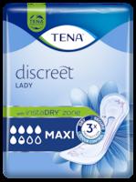 TENA Discreet Maxi Inkontinenzprodukt für Frauen mit sofortiger Absorptionskraft