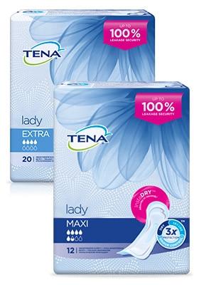 TENA Lady vložky pro střední inkontinenci