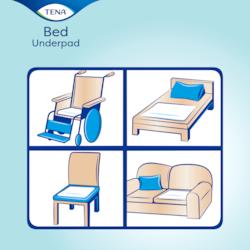 Verwendung der TENA Schutzunterlagen