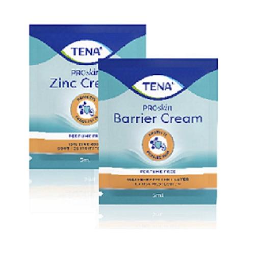 TENA Cink kenőcs minta (5ml), TENA Bőrvédő krém minta (5ml)