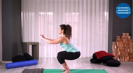 Esecuzione corretta della squat