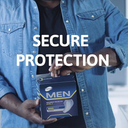 TENA Men Absorbent Protector for male urine leakage
