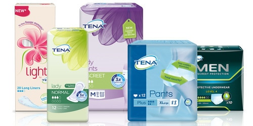 TENA Professional Pack Shot