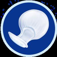 Käytä TENA-hygieniahousuja TENA Comfort Kourusuojan kanssa