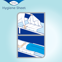 How to use TENA Hygiene sheet