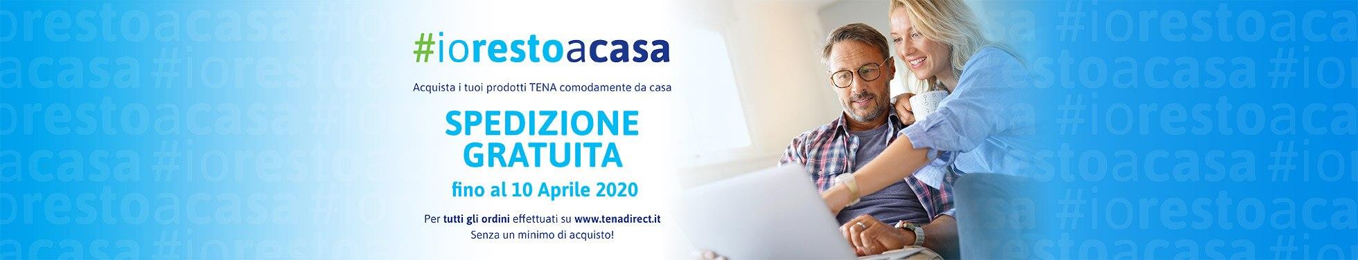 #iorestoacasa spedizione gratuita fino al 10 aprile 2020