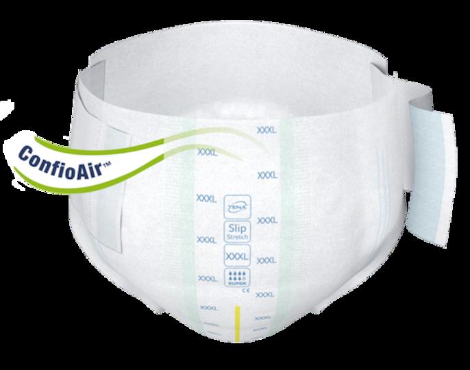 TENA Slip Bariatric Super Vorderseite – Inkontinenzprodukt fürMenschen mit Adipositas