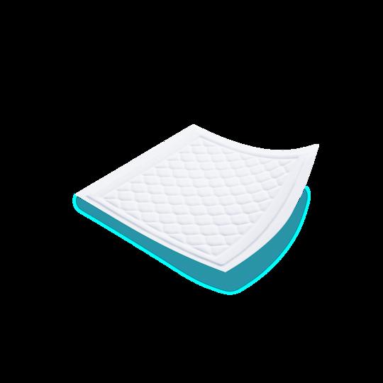 Produktillustration för TENA Bed Secure Zone