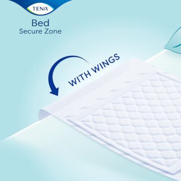 Protection de lit avec ailettes