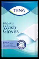 TENA Wash Gloves Gefüttert | Weicher Trocken-Waschhandschuh für die tägliche Körperreinigung