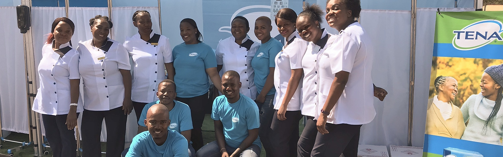 TENA-team in Banakekele