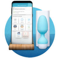 Smart Kegel Trainer & app for incontinence | Emy by TENA