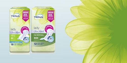 TENA Lady Discreet product range