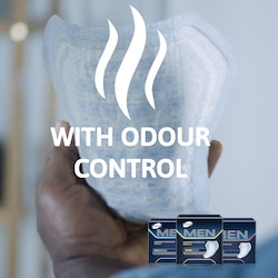 TENA Men pads with odour control