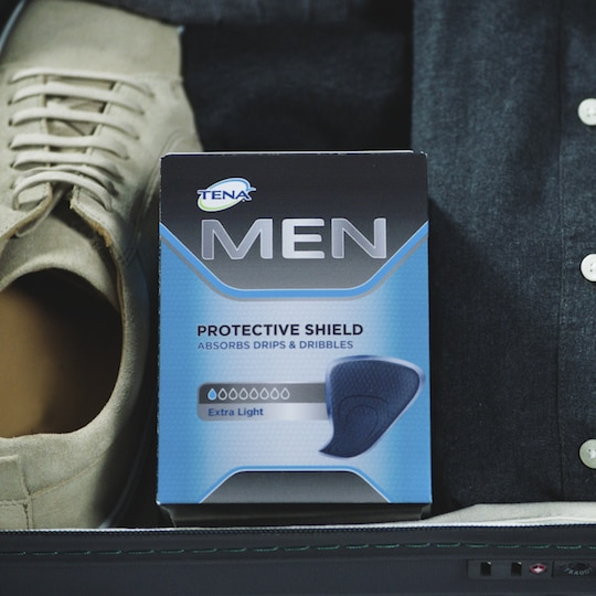 TENA Men Protective Shield voor urineverlies bij mannen