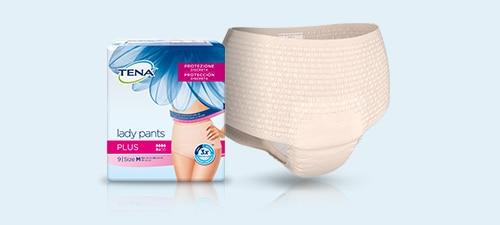 Imagen de producto de la nueva TENA Lady Pants Plus