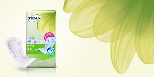 TENA Lady Discreet Produktfoto von drei Produkten
