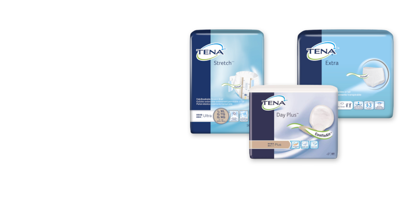 Image of TENA® Briefs and Pads with ConfioAir™ Technology - TENA Professional