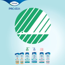 TENA ProSkin range are licensed to carry the Swan ecolabel