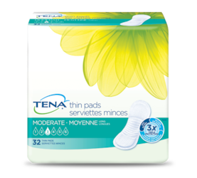 TENA® Moderate Thin Incontinence Pads Long
