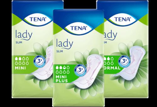 TENA Lady termékminta