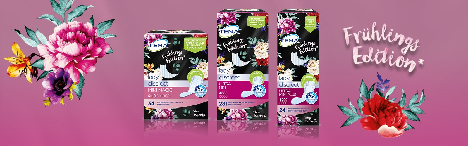 TENA Lady Discreet Frühlings Edition